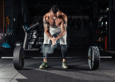 weight lifter impact tiles